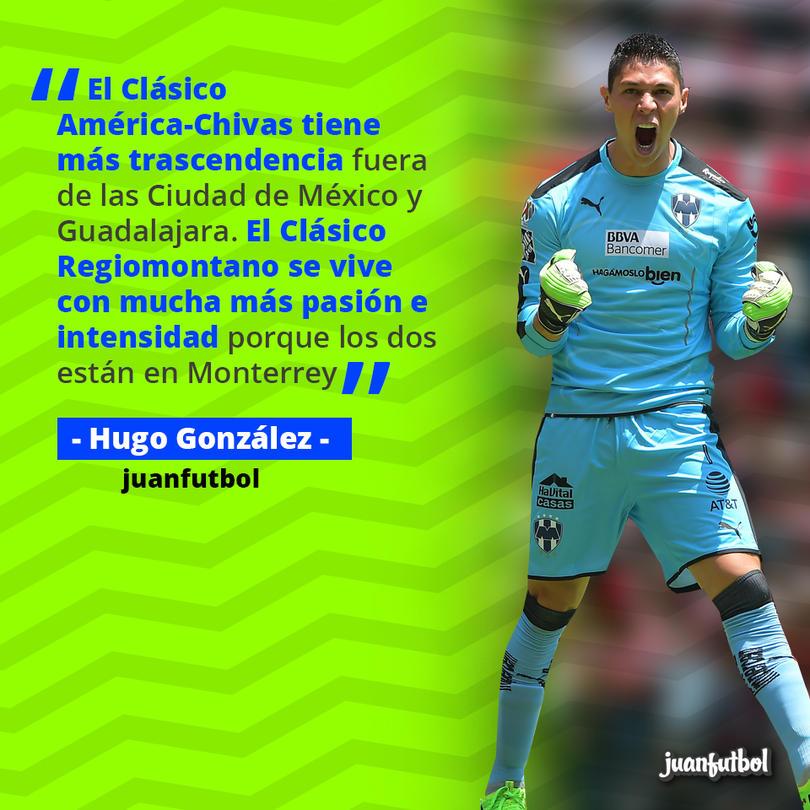 Hugo González comparó el América vs. Chivas con el Clásico Regio