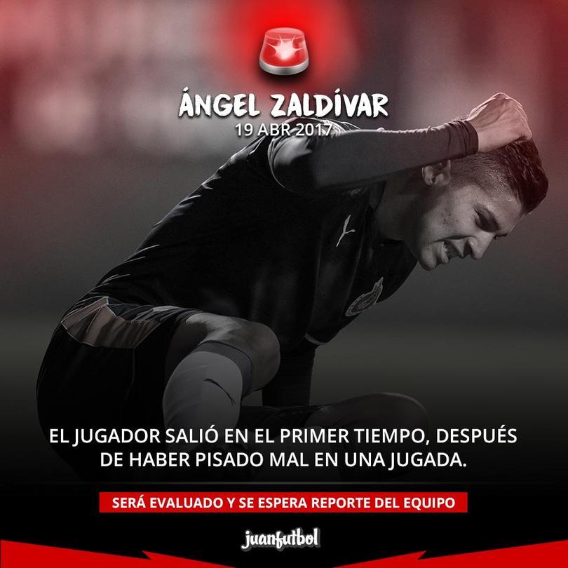 Ángel Zaldívar, jugador de Chivas