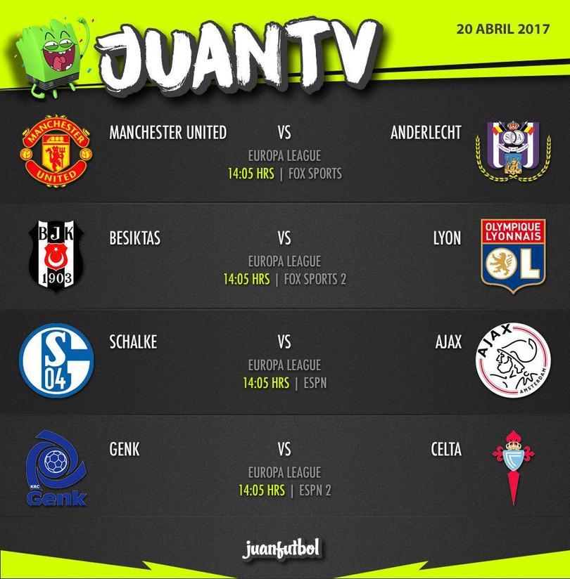Jueves de Europa League