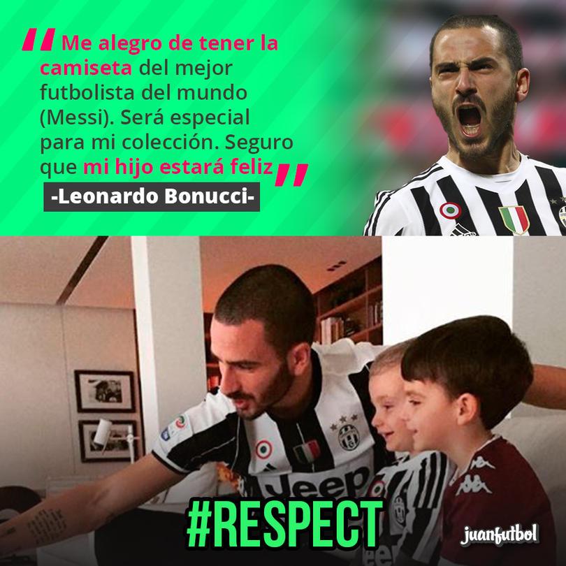 Bonucci, jugador de la Juve