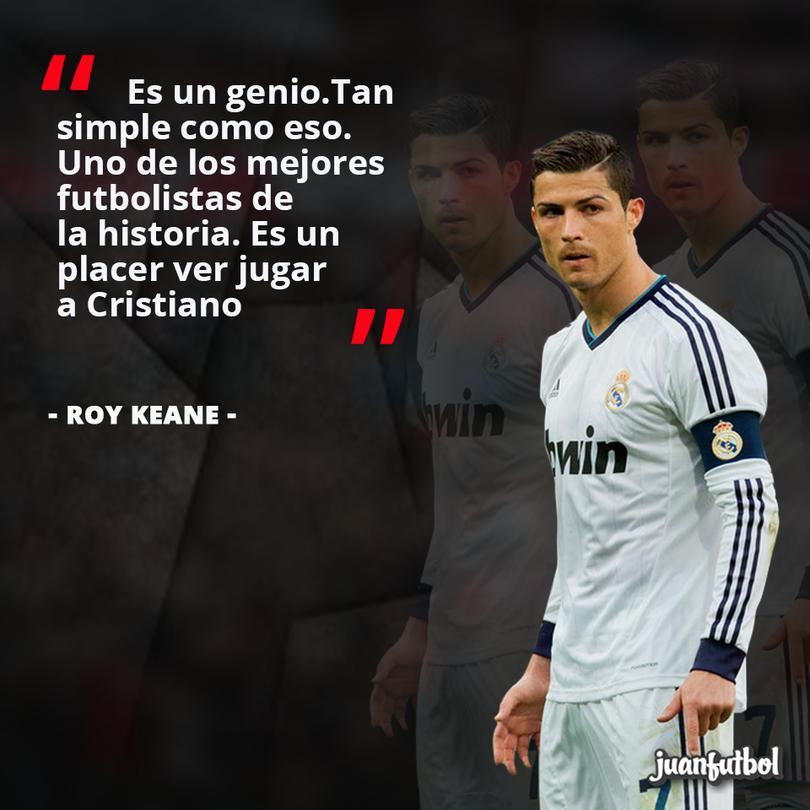 Cristiano Ronaldo es un genio: Keane