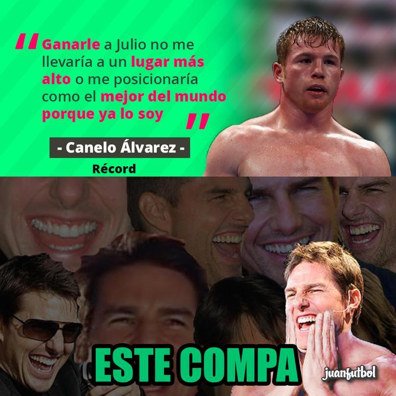 ¿Neta, Canelo?, ¿neta?