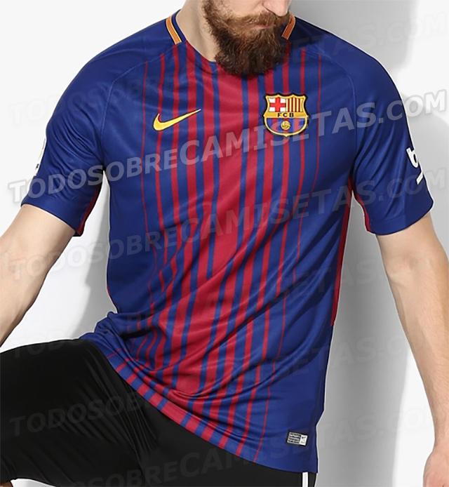 Filtran las primeras fotos reales de la nueva playera del Barça