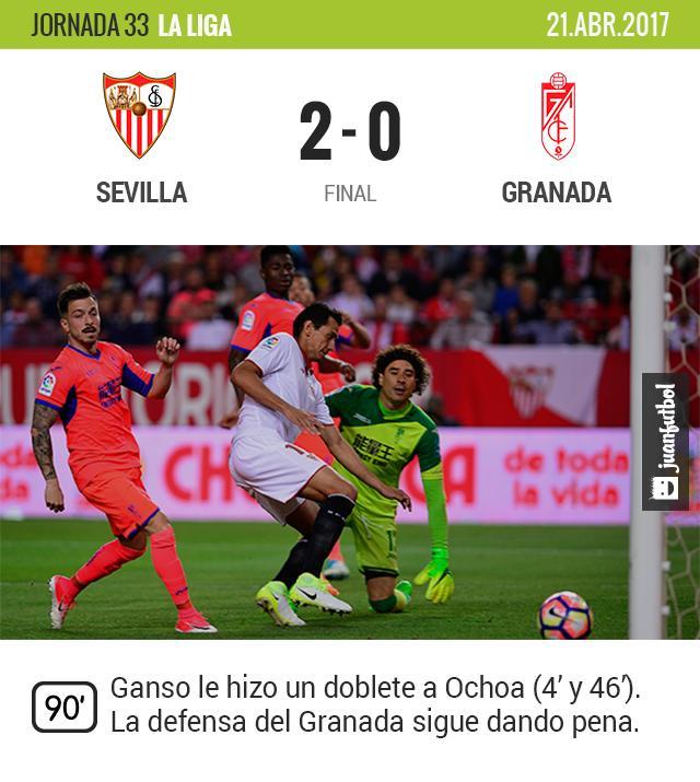 El Granada no pudo contra Sevilla