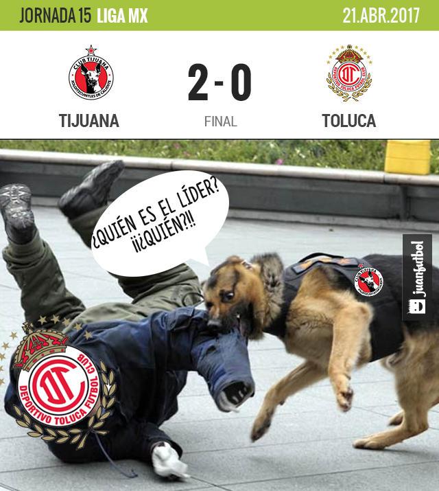 Con goles de Corona y Malcorra, Tijuana acabó con Toluca