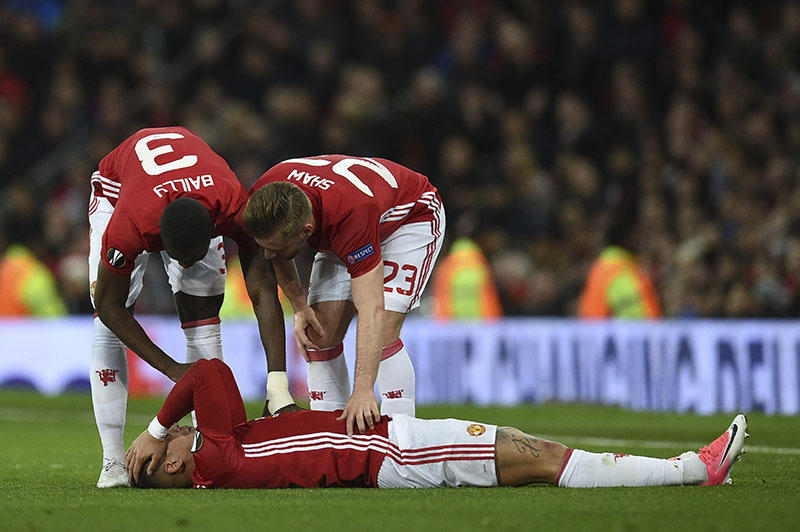 Lesión de Rojo en la Europa League