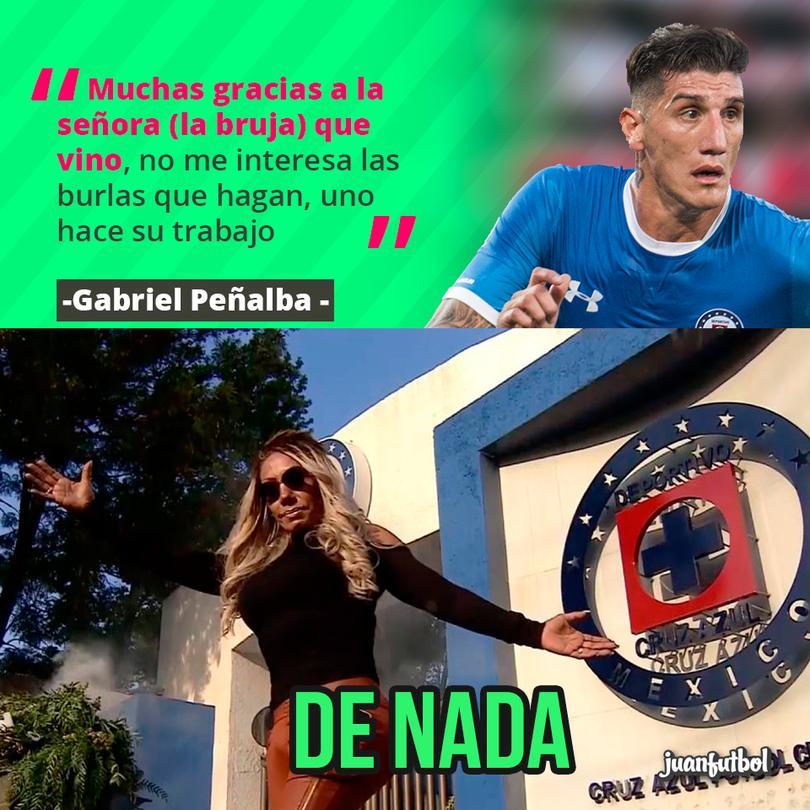 Peñalba le agradece a la bruja
