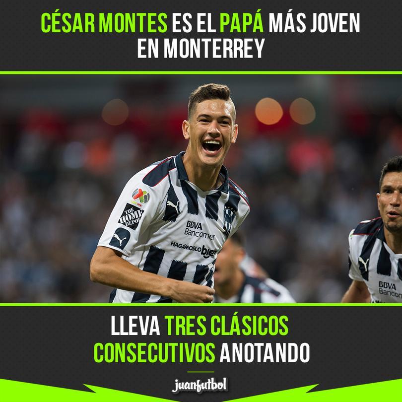 César Montes lleva tres clásicos anotando