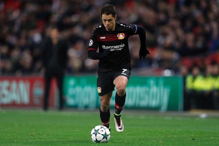 Mi Chicha por fin regresó a las canchas después de haberse lesionado y perderse los últimos partidos con el Leverkusen.