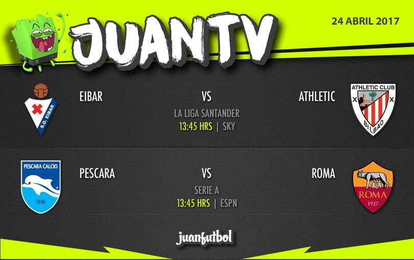 JuanTV lunes 24 de abril