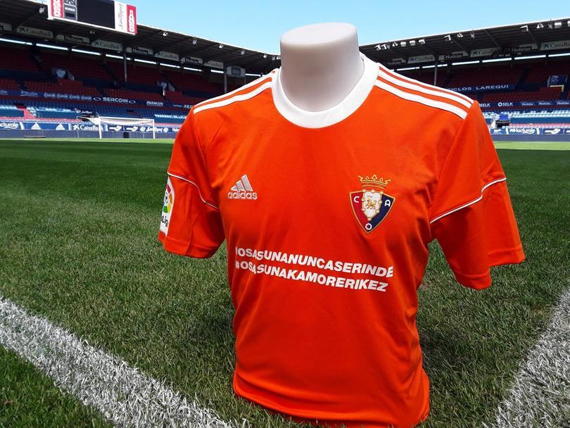 Osasuna jugará de anaranjado en el Camp Nou