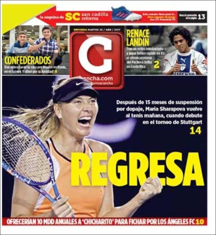 La prensa deportiva más importante del día 25 de abril del 2017.