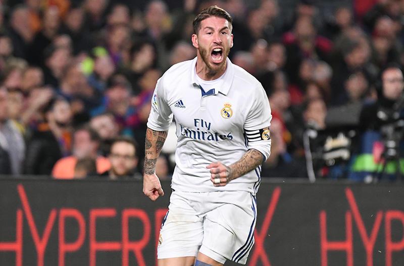 Sergio Ramos será suspendido un partido por su expulsión en el Clásico
