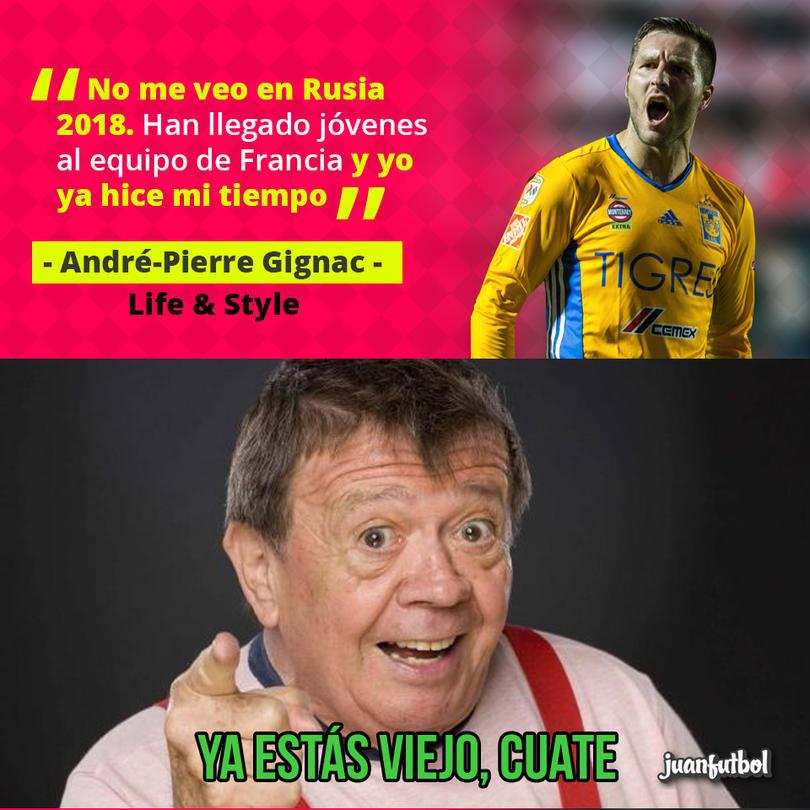 André-Pierre Gignac cree que su tiempo con la Selección de Francia ya pasó