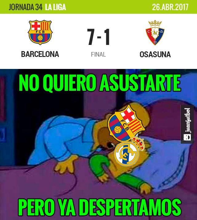 Barcelona golea al Osasuna