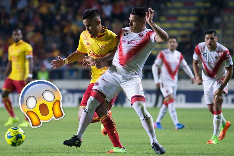 Morelia contra Veracruz en la Jornada 9