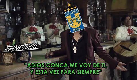 Los memes de la derrota de Tigres