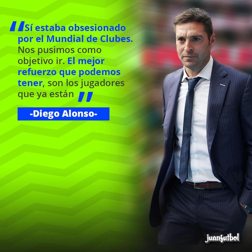 Diego Alonso, entrenador de Pachuca