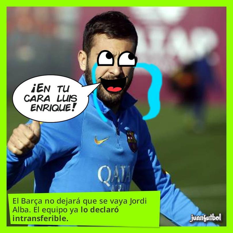 Jordi Alba en un entrenamiento del Barcelona