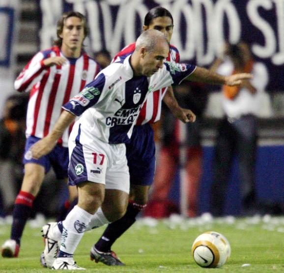 Rodrigo 'El Pony' Ruiz reforzó al Pachuca en la Copa Libertadores 2005