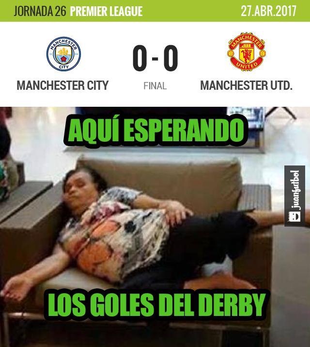 El United tiró el camión, el City no pudo meterla