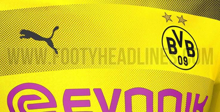 Camiseta de local del Dortmund para la siguiente temporada