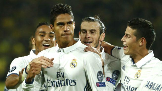 Varane, defensa del Real Madrid