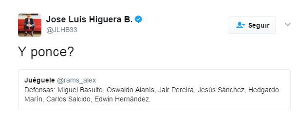 El tuit más trolleado de Higuera