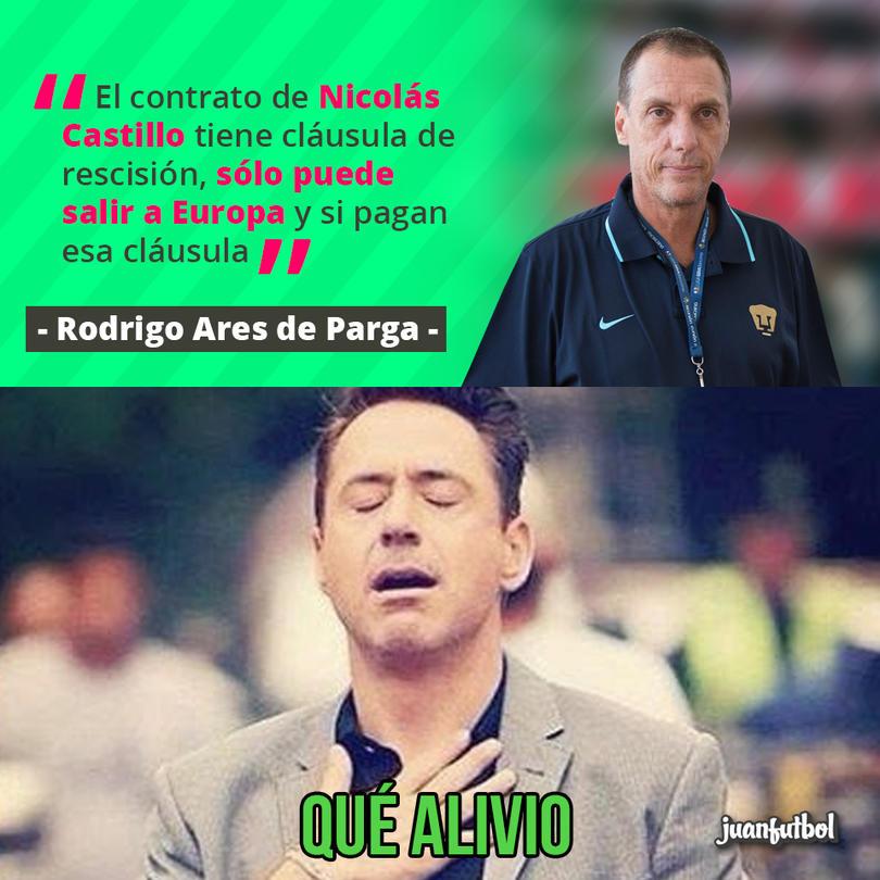 Nico Castillo no se va a otro equipo mexicano