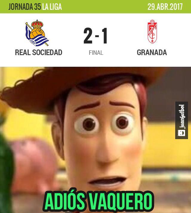 Real Sociedad le ganó al Granada