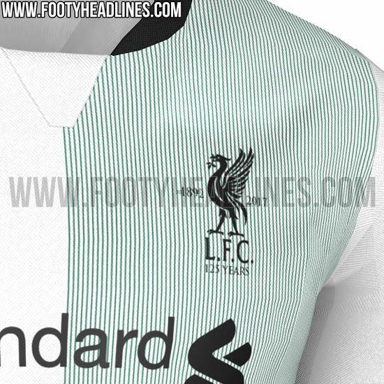 Liverpool camiseta visita