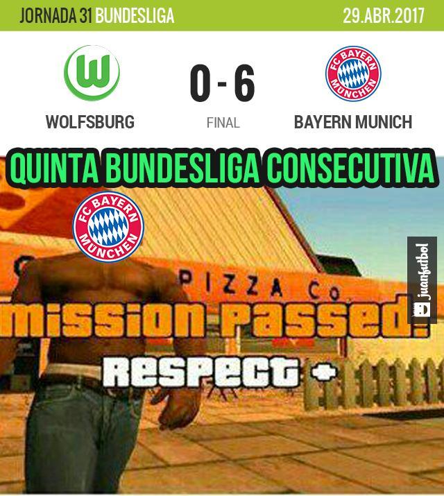 Bayern Munich es campeón