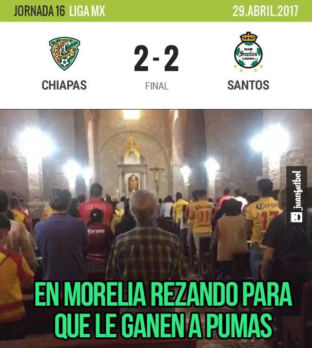 Crónica Chiapas vs. Santos