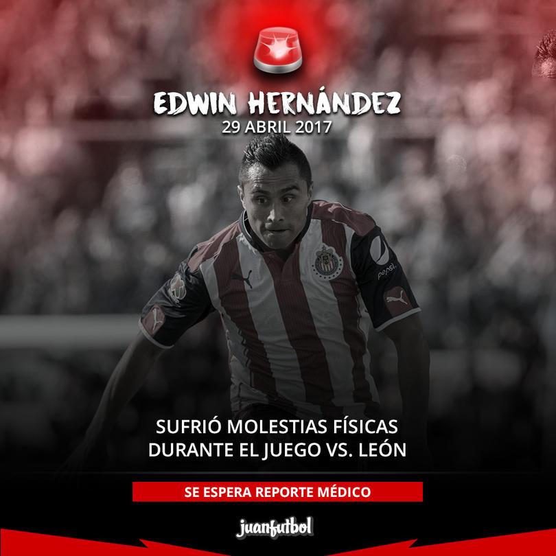 El Aris se sumó a la lista de lesionados de Chivas