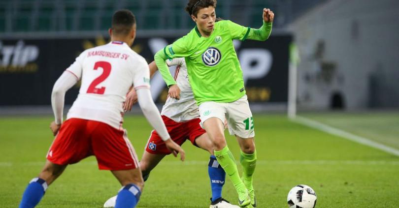 Adrian Goransch, la 'joya' azteca del Wolfsburgo que desea ir al Tri.