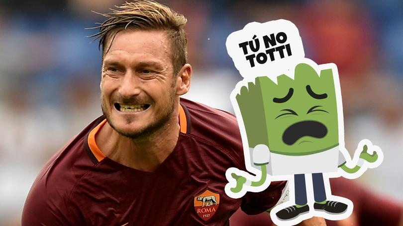 Totti se retira de la Roma, Monchi lo hace oficial.