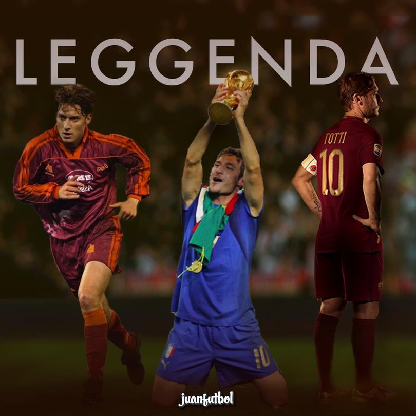¡Gracias por todo, Totti!