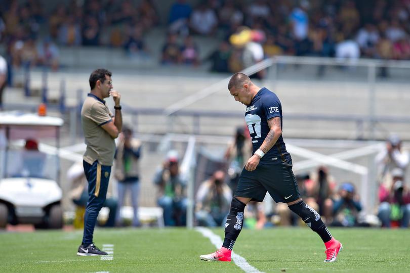 Nicolás Castillo pidió salir de Pumas