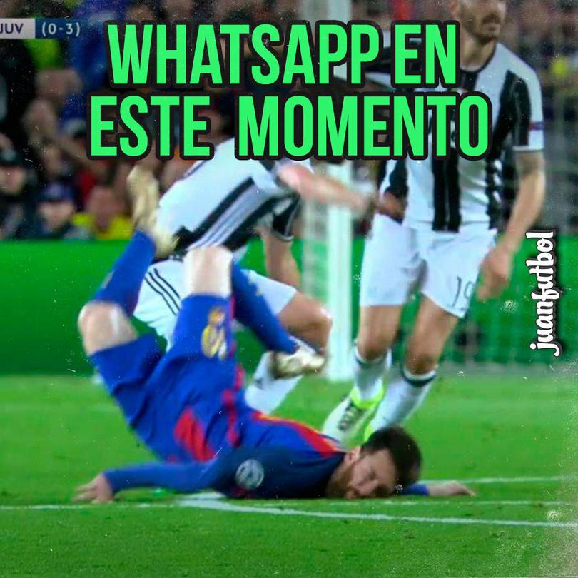 Messi ante la Juve