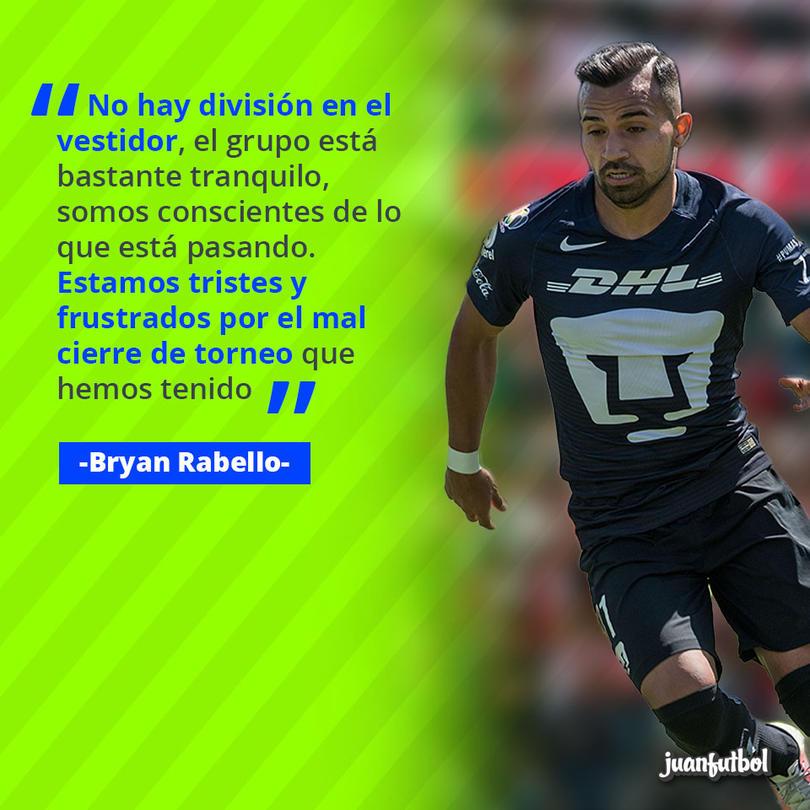 Bryan Rabello, jugador de Pumas