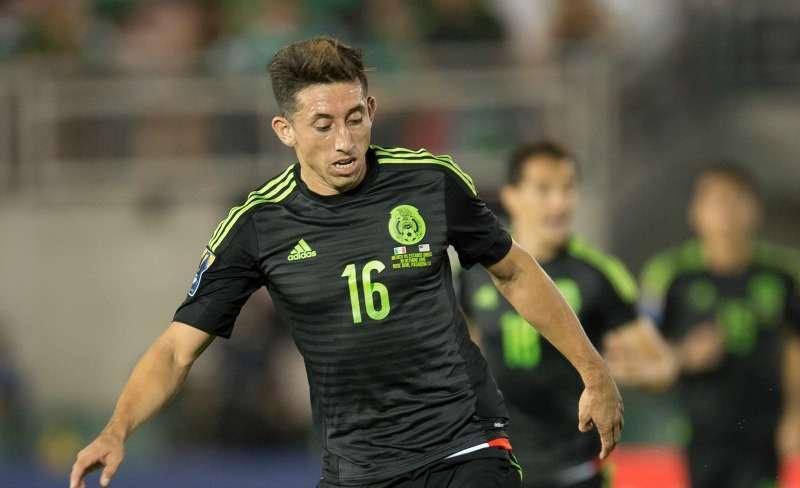 Héctor Herrera con la Selección Mexicana