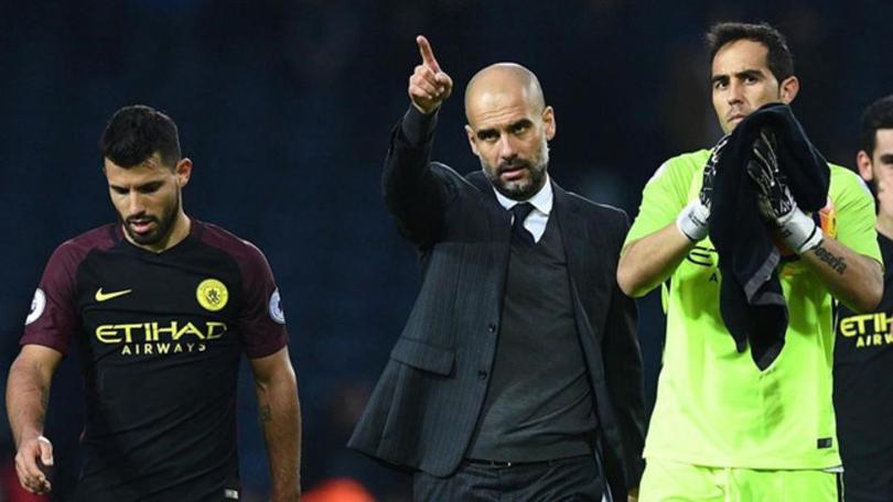 Guardiola no sólo está sufriendo porque esta temporada no se llevará ningún título con el City, también porque tiene jugadores lesionados.