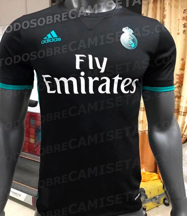 Camiseta de visita del Madrid