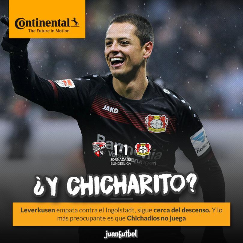 Chicharito no juega