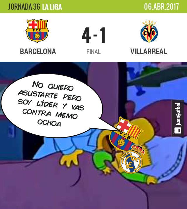 El Barcelona sigue peleando La Liga hasta el final