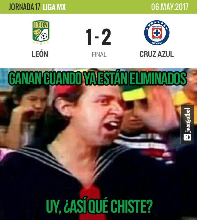 Cruz Azul venció al León