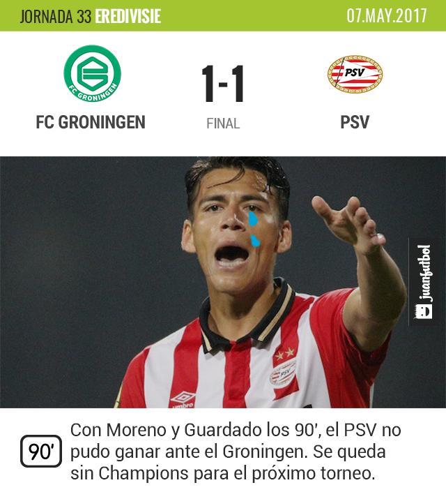 El PSV se queda sin Champions.