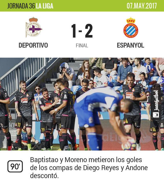 Dieguito y el Espanyol se rifaron
