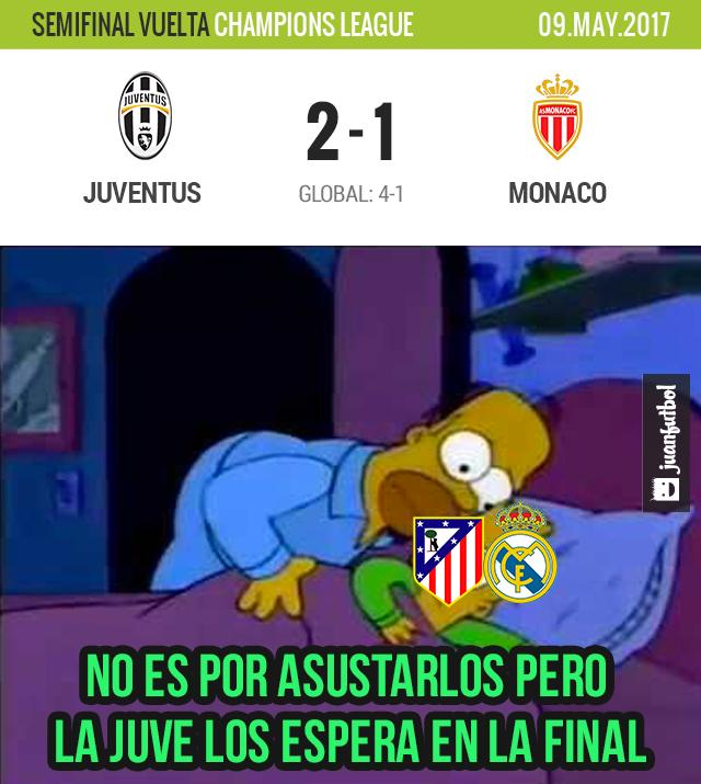 Juventus está en la final