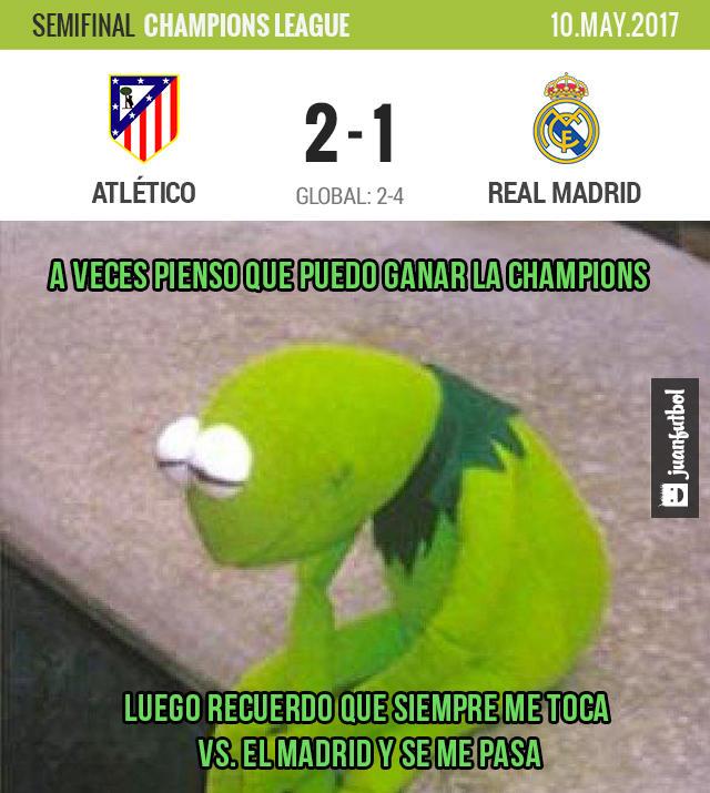 Real Madrid ya la andaba cruzazuleando, pero reaccionó a tiempo y se llevó la serie semifinal vs. Atlético